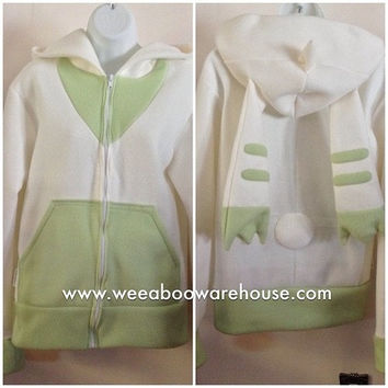 Terriermon Digimon Tamers Fleece Cosplay Hoodie