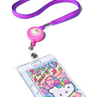 Sanrio Pastel Pop Hello Kitty Key Leash Purple One