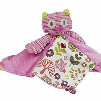 Maison Chic 72122 Olivia the Owl Blankie - 12 in.