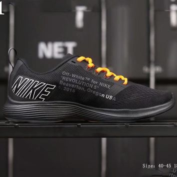 NIKE RUN SWIFT & OFF-WHITE Joint Speed Running Series cushioning running shoes F-AHXF #1