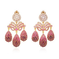 One-Of-A-Kind Tourmaline Chandelier Earrings | Moda Operandi