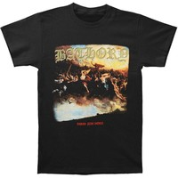 Bathory Men's  Blood Fire Death T-shirt Black
