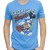 Mickey Mouse Old Scool Vintage Inspired Heather Tee - Men's Collections - Disney - All - Junk Food Clothing