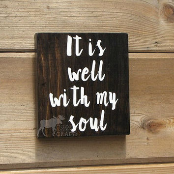 Best It Is Well With My Soul Art Products On Wanelo