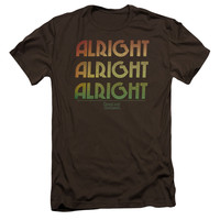 DAZED AND CONFUSED/ALRIGHT Z - S/S ADULT 30/1 - COFFEE - XL - Coffee -