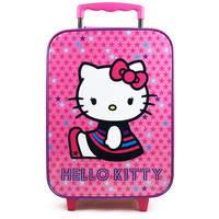 Hello Kitty Rolling Luggage Case [Pink - Sitting]