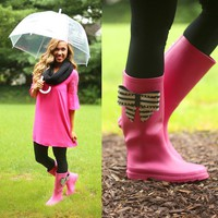 Singing In The Rain Boots - Betsey Johnson
