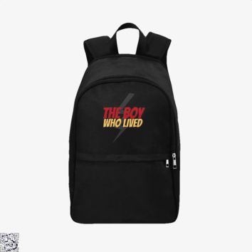 The Boy Who Lived, Harry Potter Backpack