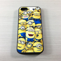 Despicable me  iPhone 5 / 5C / 5S / 4 / 4S Rubber Case, iPod Touch 5/4 Hard Case,Samsung Galaxy S3/S4 Rubber Case,S2 / Note 2 Hard Cover