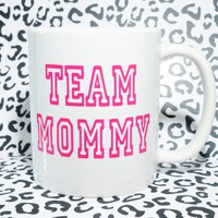 TEAM MOMMY Coffee Mug /  MoM Coffee Mug. World's Best Mom, Best Mom Mug, Mom Mug, Mom Mug, Mom Gift, Gift for Mom
