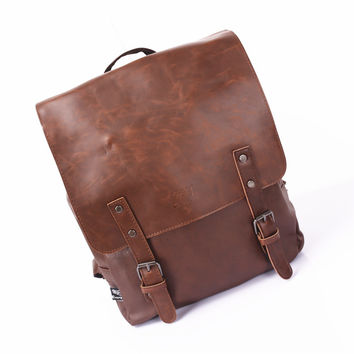 Comfort On Sale Back To School College Hot Deal Stylish Casual Vintage Men Fashion Backpack [9825711043]