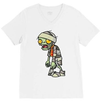 plants vs zombies V-Neck Tee