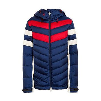 Perfect Moment - Kids' Chatel Navy Red Snow White Jacket