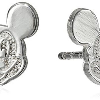 "Disney ""Mickey Mouse"" Sterling Silver Stud Earrings"