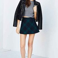 Silence + Noise Cher Menswear A-Line Mini Skirt-
