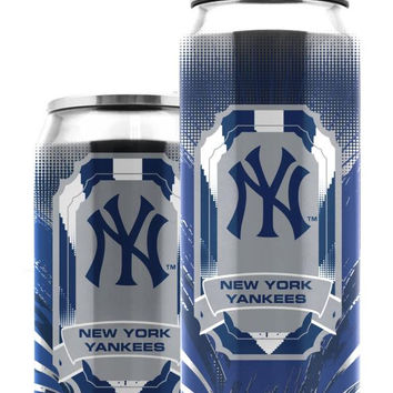 Duckhouse MLB New York Yankees Stainless Steel 16.9-Ounce Thermocan