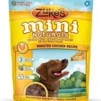 Zukes's Mini Naturals Healthy Moist Chicken Training Dog Treats 6 oz