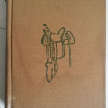 Bucky O CONNOR antique old west book 1907 hardcover WM Macleod vintage books