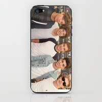 One Direction Backstage at Party In The Park 2012 Leeds iPhone & iPod Skin by Karl Wilson Photography