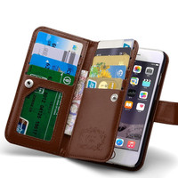 Wallet Bags Leather Flip Case For Iphone 6 6S 4.7
