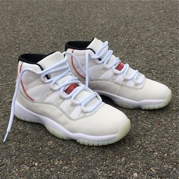 "Air Jordan 11 Retro AJ 11 ""Platinum Tint"""