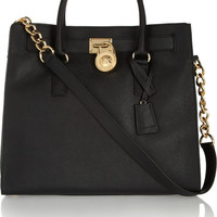 MICHAEL Michael Kors - Hamilton large textured-leather tote