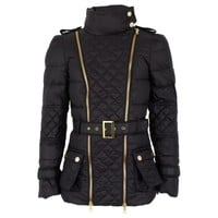 Black Quilted Puffa