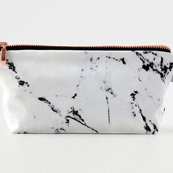 MARBLE & COPPER bag // pouch case make-up bag by renna deluxe
