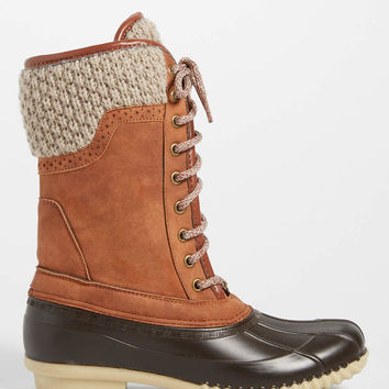 Natalie duck boot with knit cuff | maurices