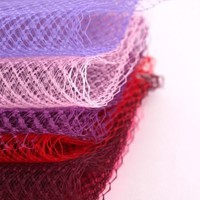 "10yard lot 9""(22cm) Birdcage Veils Netting Millinery Hat Veil For Women Fascinator Veiling Headpiece ACC Bridal Veils"