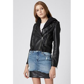 Blank NYC Neo - Black Biker Jacket