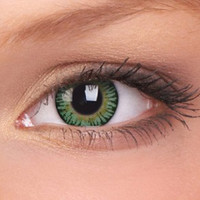 Cosplay Contact Lenses | Party Green Big Eyes Contact Lenses (Pair)
