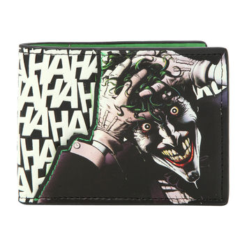 DC Comics Joker HAHAHA Wallet