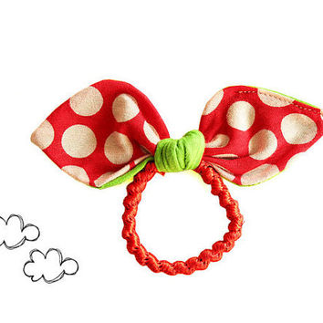 Hair bow PDF sewing pattern for beginners - girls hair band accessories tutorial