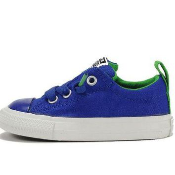 ONETOW Converse for Kids: Street Slip Radio Blue (Infant) Sneaker