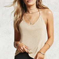 Y-Back Ribbed Cami