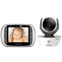 "Motorola 3.5"" Digital Video Baby Monitor With Wi-fi Viewing"