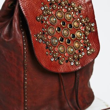 Free People Sacra Studded Backpack