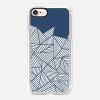 Abstract Mountain Navy iPhone 7 Case by Project M | Casetify