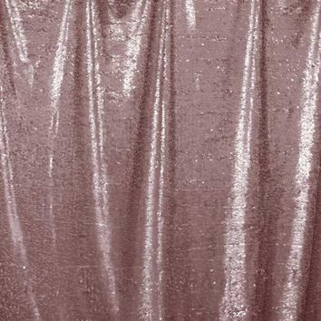 Printed Sequin Blush Pink Backdrop - 4617