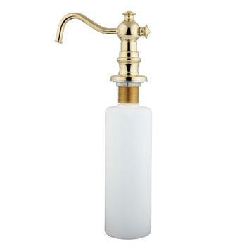Kingston Brass Vintage Decorative Soap Dispenser - Polished Brass