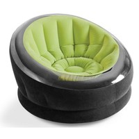"Intex Empire Inflatable Chair, 44"" X 43"" X 27"", Green - Walmart.com"