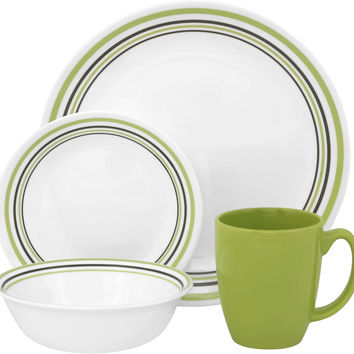Livingware 16-Piece Set, Service for 4, Garden Sketch