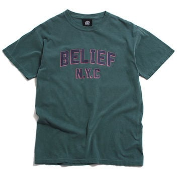 College T-Shirt Spruce Green