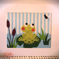 "8""x10"" Matted Froggy Print"
