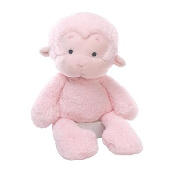 Gund MeMe Monkey Pink Small Plush Figure