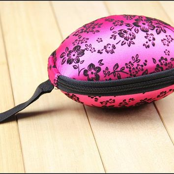 Women Simple Travel Portable Bra Bag Cases Egg-shaped