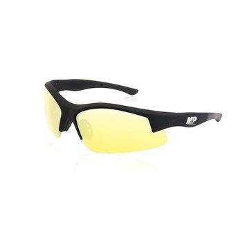 M&P Super Cobra Half Frame Shooting Glasses Amber Lens