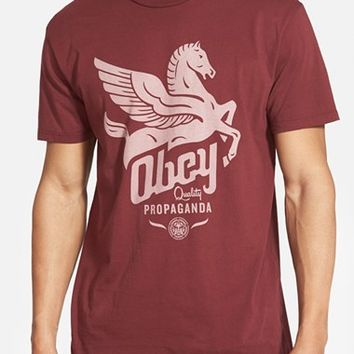 Men's Obey 'Pegasus Propaganda' Graphic T-Shirt,