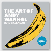 The Art of Andy Warhol Wall Calendar | 2012 Warhol Calendar | fredflare.com